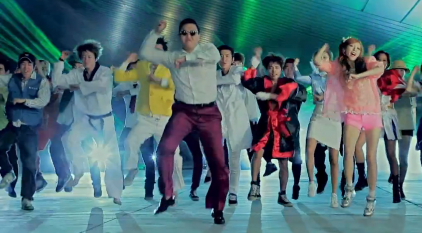 The Gangnam Style Dance - Taking the World by Storm