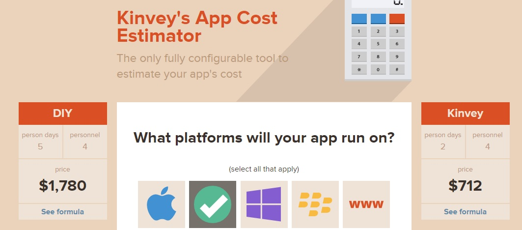 Kinvey Is A Great Tool For Deciding App Budget