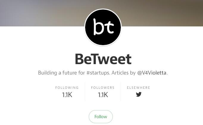 The Betweet Venture