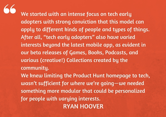 Ryan Hoover on Product Hunt 2.0