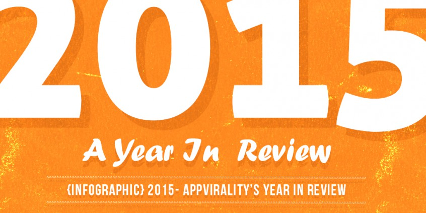 {Infographic} 2015- AppVirality's Year In Review