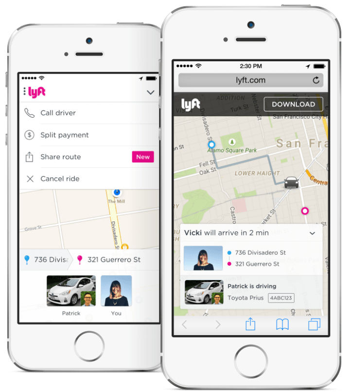 Improved product features have added to Lyft's word of mouth driven growth