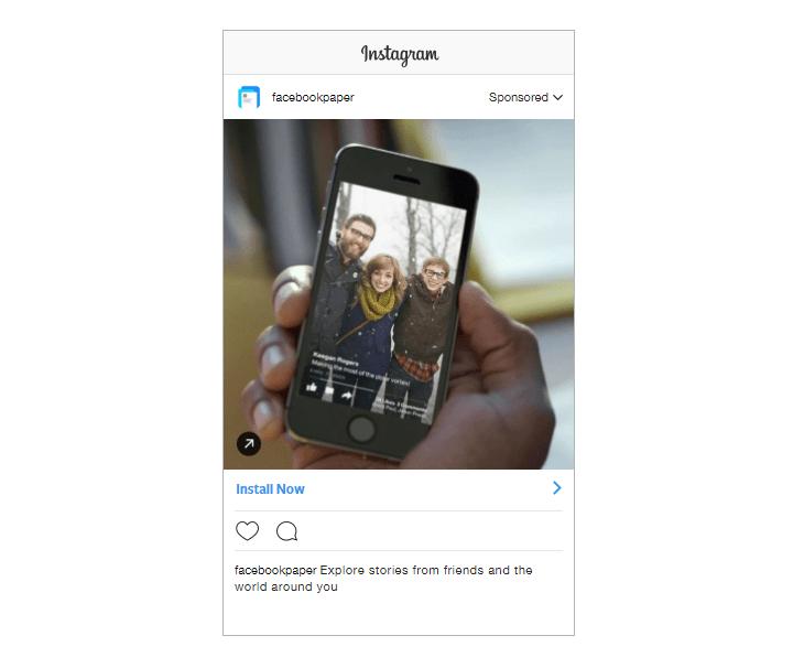 Instagram App Install Ads